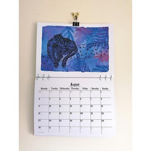 2021 Calendar | A3 Art Calendar