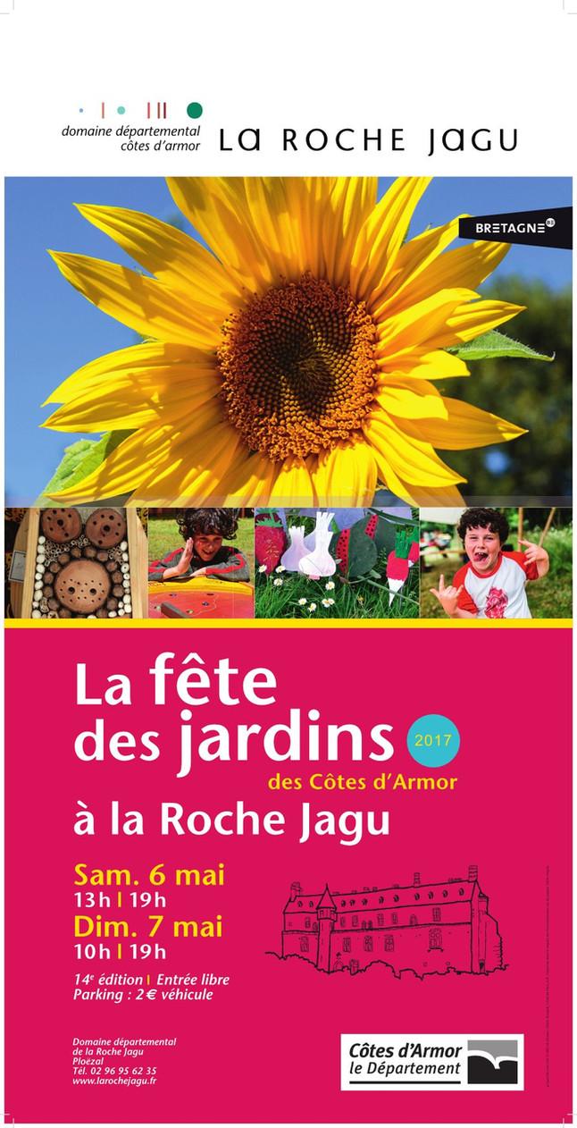 LA ROCHE-JAGU: Fête des jardins 2017 6 et 7 mai 2017