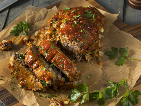MEATLOAF WITH TANGY GLAZE