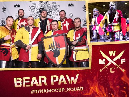 DYNAMO CUP 2018 TEAM: «BEAR PAW»