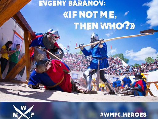 EVGENY BARANOV: «IF NOT ME, THEN WHO?»