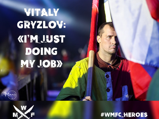 VITALY GRYZLOV: «I'M JUST DOING MY JOB»