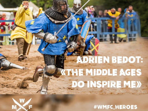 """ADRIEN """"FRENCH NINJA"""" BEDOT: «THE MIDDLE AGES DO INSPIRE ME»"""