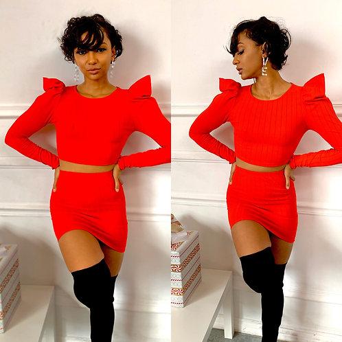 Griselda skirt set