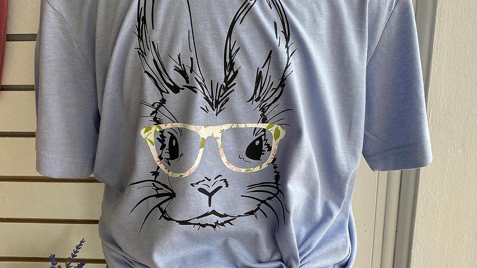 Bunny w/glasses Tee