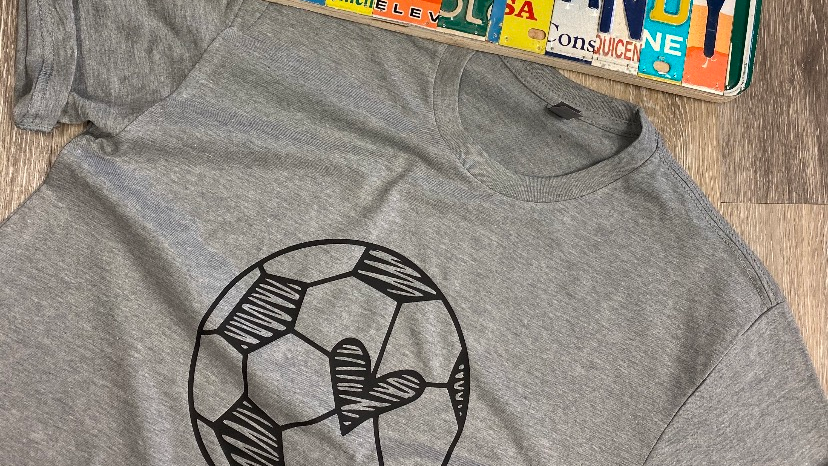 Soccer Heart Tee