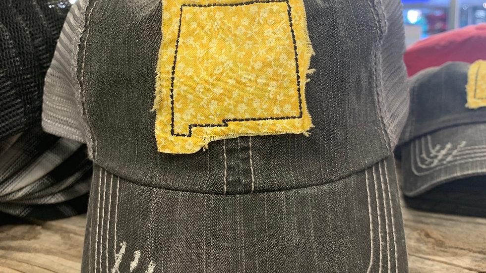 Distressed NM Patch Cap