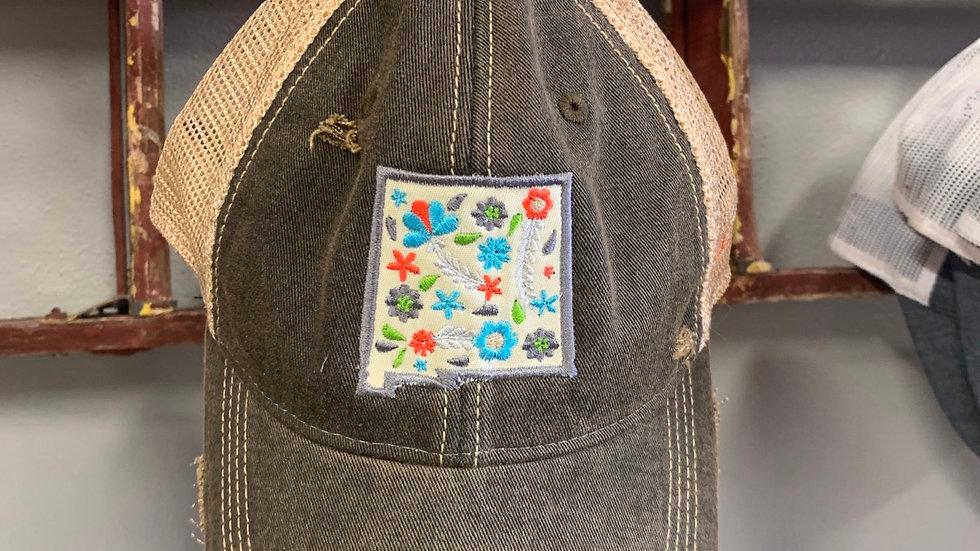 Floral NM Cap