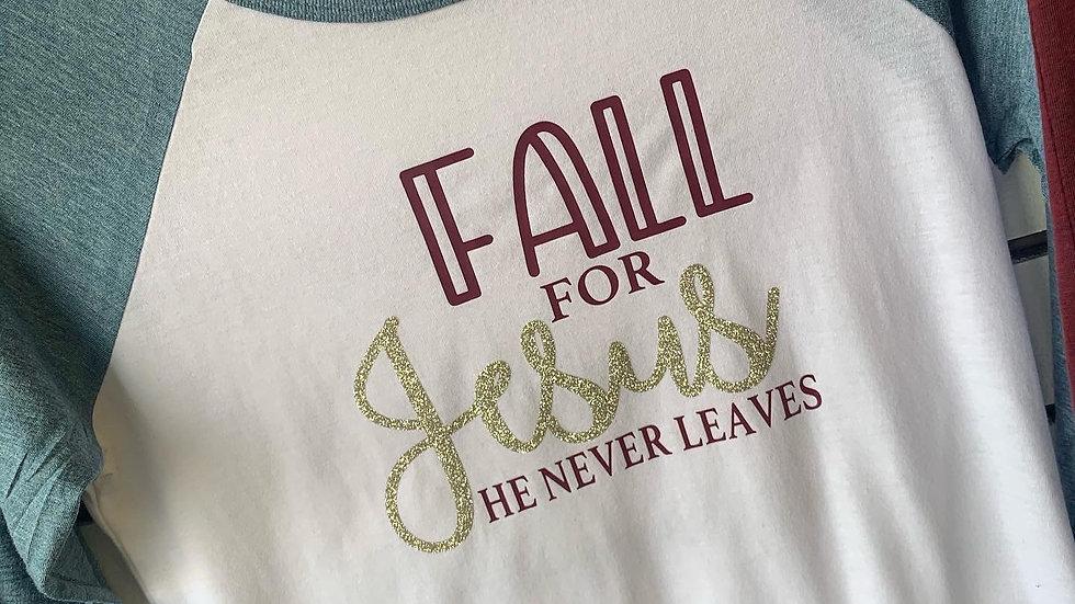Fall For Jesus Raglan