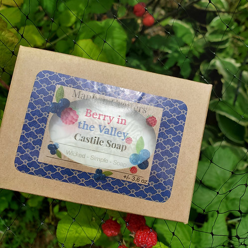 Berry in the Valley Castile Soap