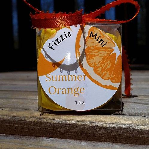 Summer Orange fizzie mini