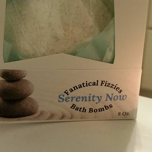 Fanatical Fizzie Serenity Now bath bomb