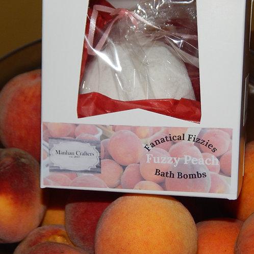 Fanatical Fizzie Peach bath bomb