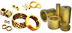 Buchas de bronze, Tarugos de Bronze, bucha de bronze com inserto de grafite, pino de grafite
