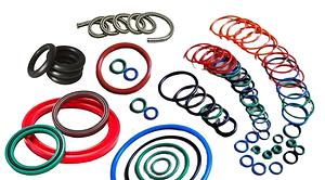anel oring, retentor, gaxetas, artefatos de borracha, viton, nbr