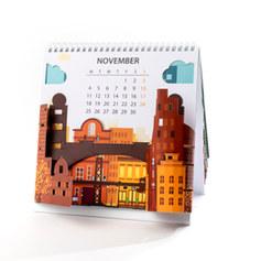 לוח שנה תלת מימדי