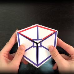 מודל לוגו תלת מימדי ומונפש