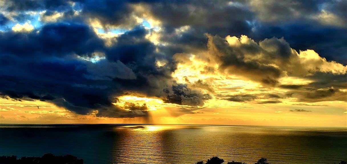 Sunset on Skyline Dr