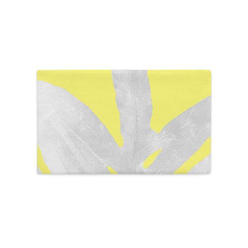 Yellow Fern, Premium Pillow Case