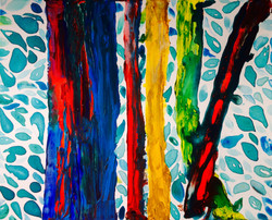 Rainbow Eucalyptus 16in x 20in