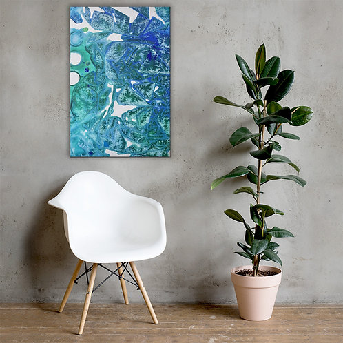 Sea Leaves by ANoelleJay Canvas