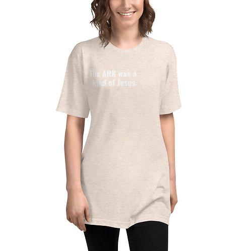 The Ark Unisex Tri-Blend Track Shirt