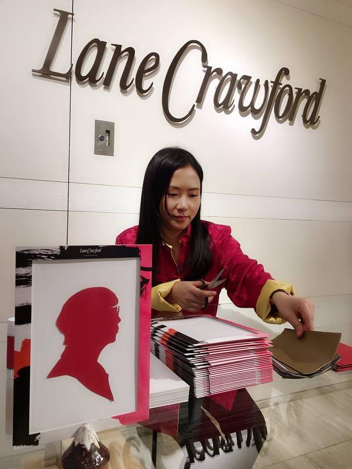 Lane Crawford x 慧惠剪影