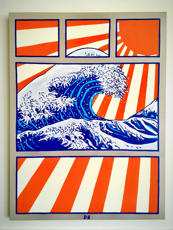 SUMMER ART - OCEAN BOUND