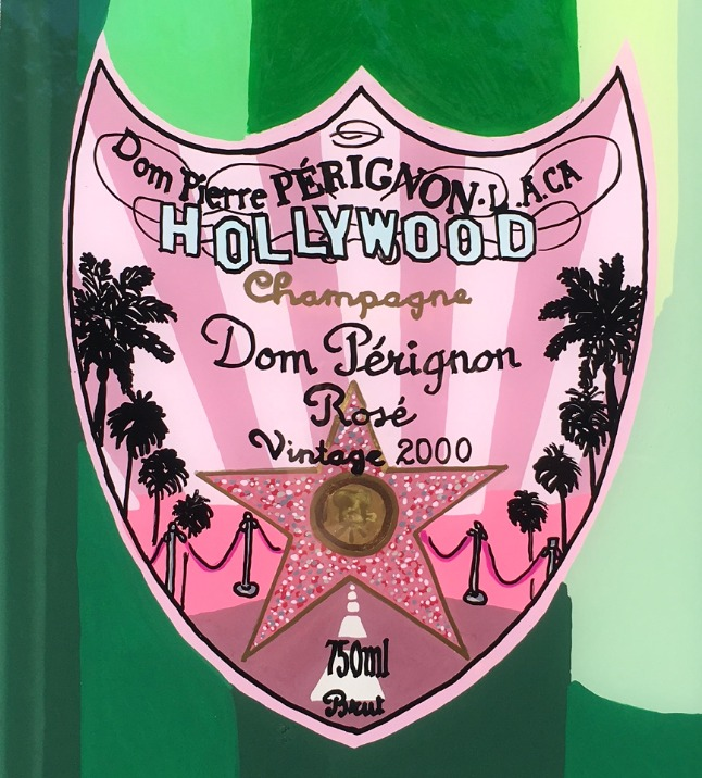 Hollywood Champagne Can Detail