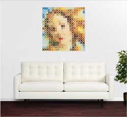 XO Botticelli over Sofa