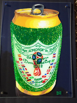WORLD CUP CHAMPAGNE CAN