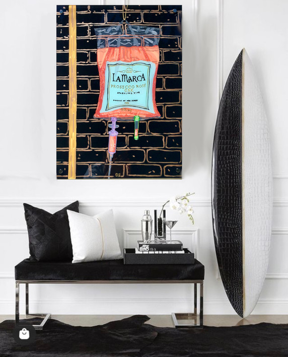 A Custom painting on your wall