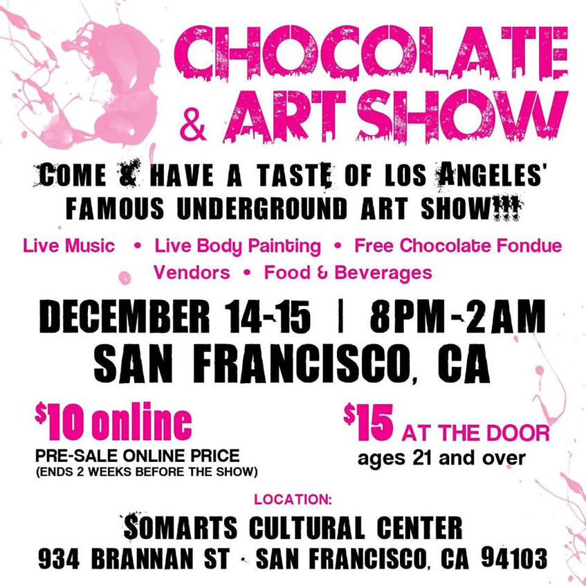 Chocolate & Art Show SF