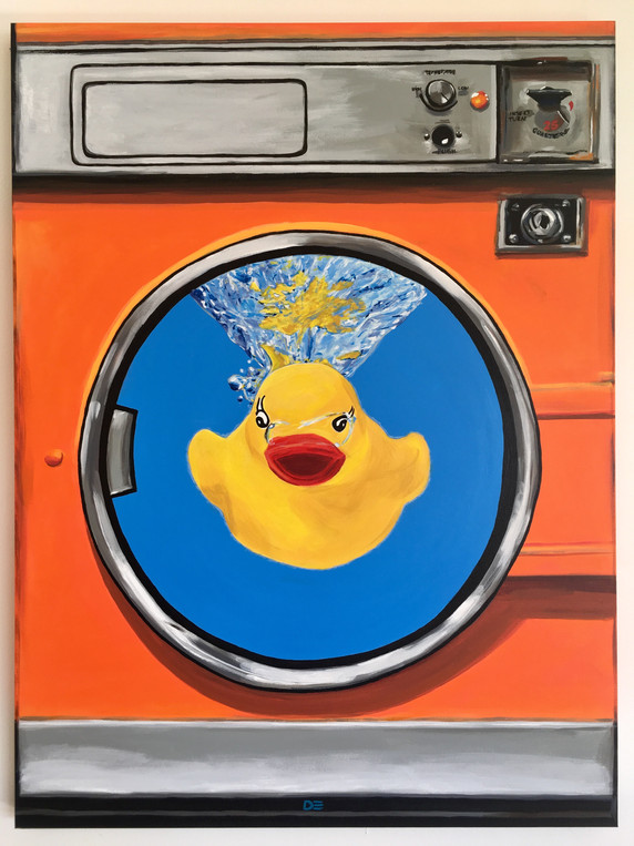 SQUEAKY CLEAN - First painting of 2020
