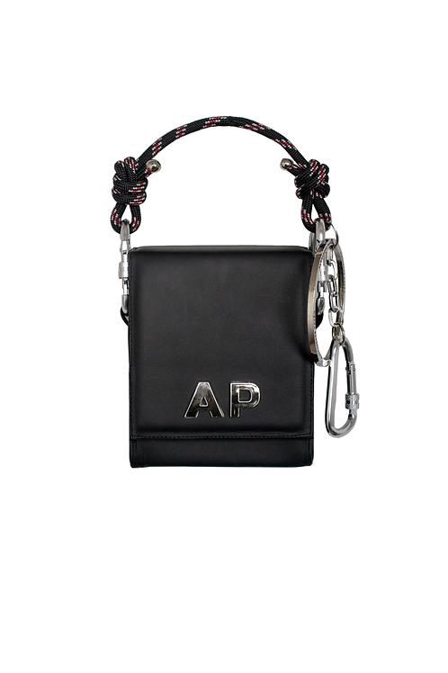 Black Monogram Handbag