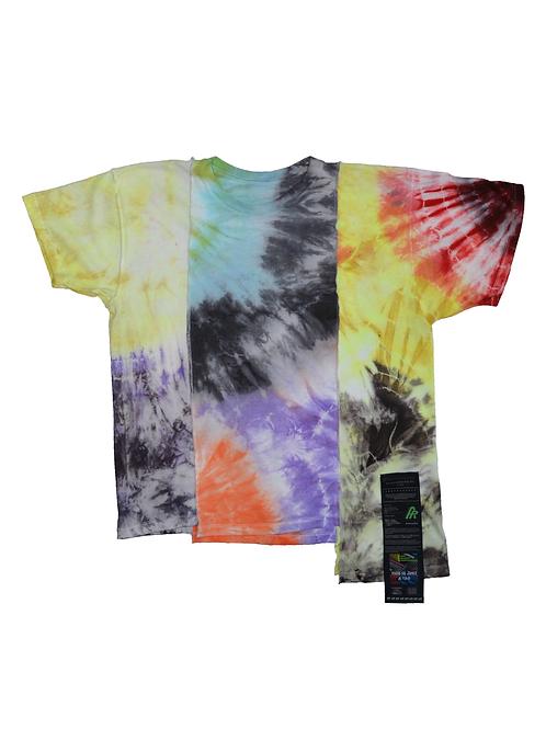 Patchwork Tie Dye T-shirt - 08