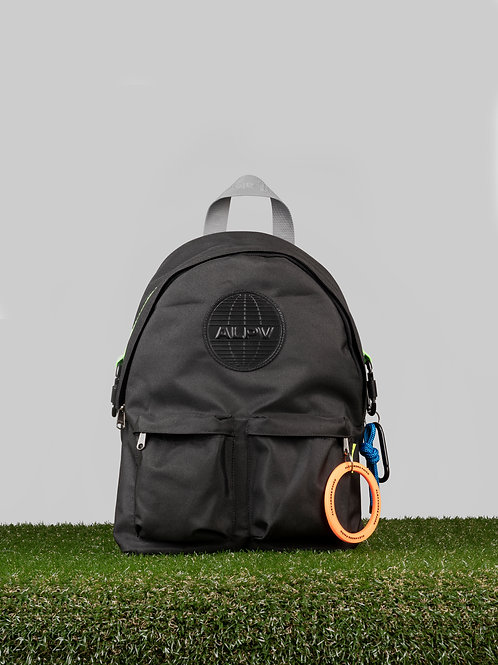 Joseph Nylon Backpack - Black