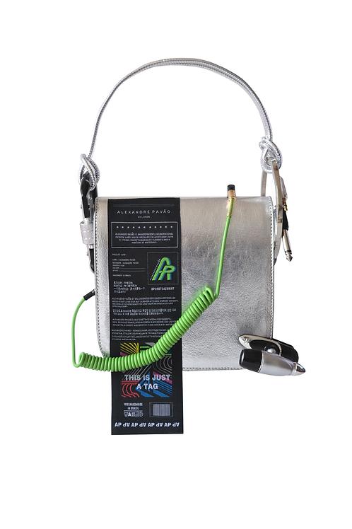 Light Tech Siver Handbag