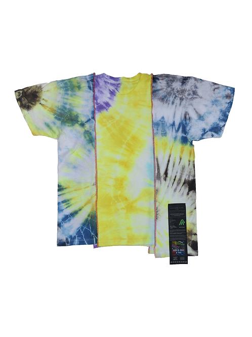 Patchwork Tie Dye T-shirt - 07