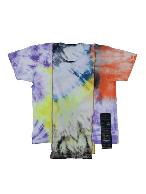 Patchwork Tie Dye T-shirt - 03