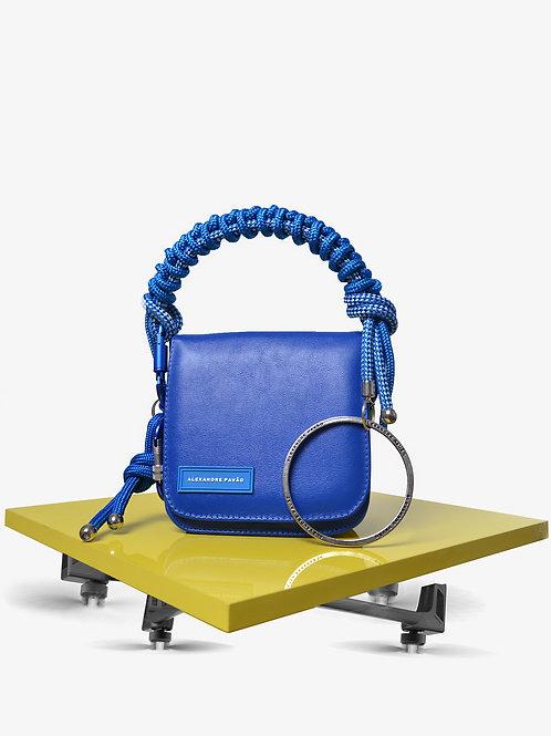 DELTA HANDBAG - BLUE
