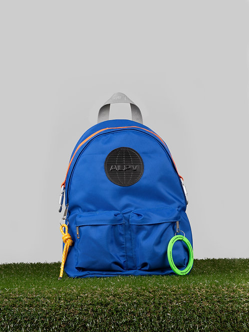 Joseph Nylon Backpack - Blue
