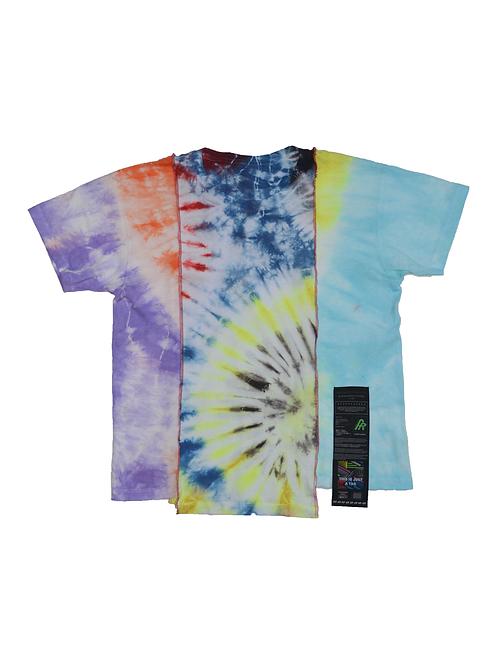 Patchwork Tie Dye T-shirt - 06