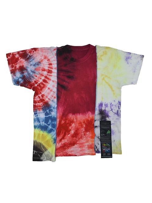 Patchwork Tie Dye T-shirt - 04