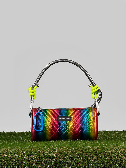 Cindy Bag - Metallic Rainbow