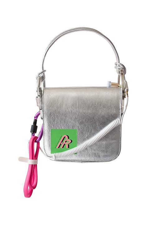 Tech Silver Handbag