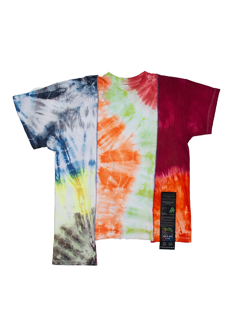 Patchwork Tie Dye T-shirt - 02
