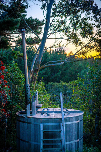 Woodfired Hot Tub - Tanglewood Retreat