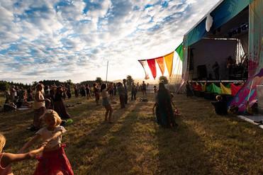 Main Stage at NZ Spirit Festival 2019