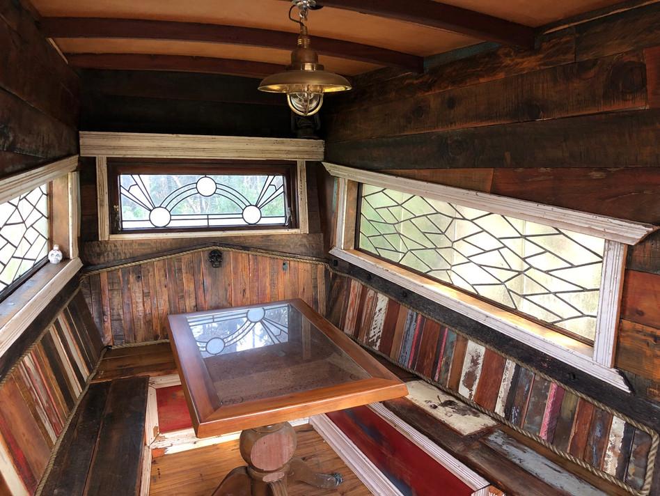 Inside - hangout space